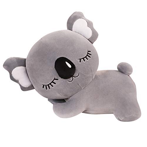 Transer- Very Soft Cute Koala Big Hugging Pillow Kawaii Plush Stuffed Animals Toys (Gray Koala, 14