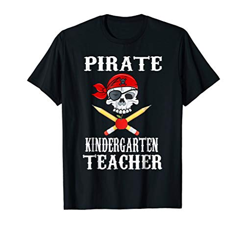 (Kindergarten Teacher Pirate Costume Halloween)