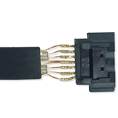 Homefunny SATA ケーブル 高速 6Gbps SATA3 ケーブル シリアル