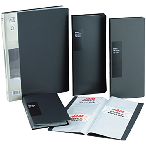 Black Business Card Books (Holds 600 cards) - Sold individually