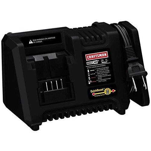 Craftsman Bolt-On ™ 20 Volt Max* QuickBoost® Lithium Ion Charger (Bulk Packaged)