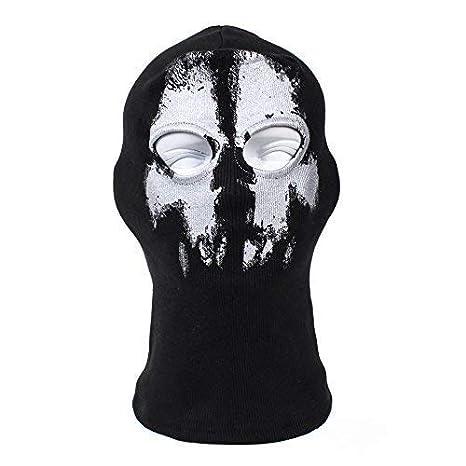 Terror Ghost Fantasma AGUJERO, zorro Ninja, Disfraz 1 talla ...