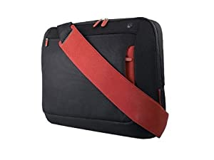 Belkin 15.6 inch Notebook Messenger Bag (Jet/Cabernet) by Belkin Components