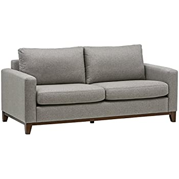 Rivet North End Exposed Wood Modern Sofa, 78
