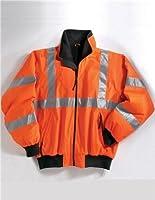 Men's Tall Heavy Protective Jacket With 3M Reflective Tape - Osha Orange