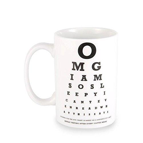 Wideye COMINHKPR44398 Eye Chart Coffee product image