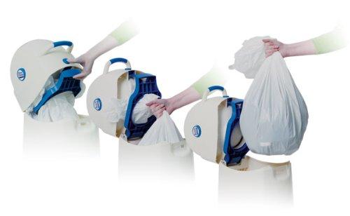 Geruchsdichter Windeleimer Diaper Champ large f/ür normale M/üllbeutel