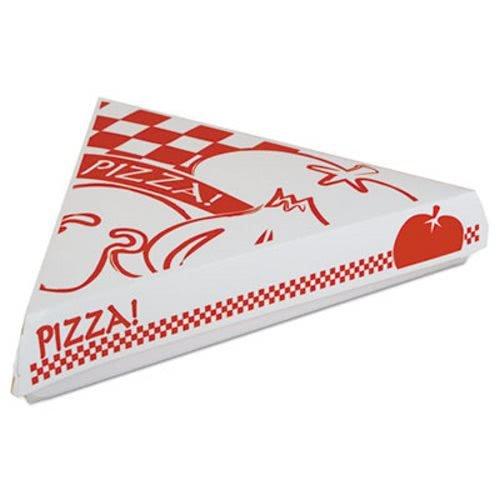 Lock-Corner Pizza Boxes, 9-1/4w X 9d X 1-11/16h, White, -