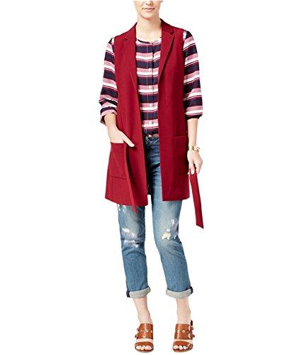 Tommy Hilfiger Womens Belted Fashion Vest 602 16