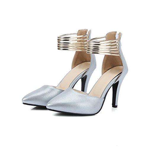 Blanc Compensées Sandales 5 36 ASL05444 BalaMasa Blanc Femme wBXq1wA