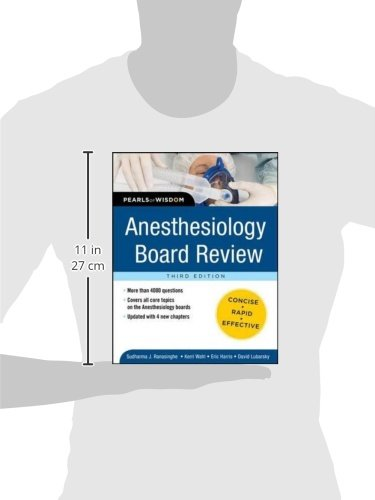 Anesthesiology Board Review Pearls of Wisdom 3/E (Pearls of Wisdom Medicine)