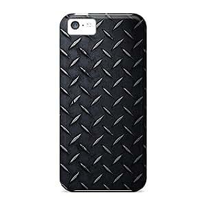Anti-Scratch Hard Phone Cover For Iphone 5c (pJG15098GDRQ) Unique Design Realistic Iphone Wallpaper Series