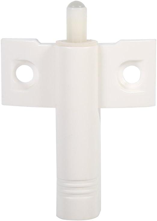caj/ón White muebles Cierre silencioso suave Tope de puerta Reduzca el ruido para armarios//cajones y puertas 20pcs Amortiguadores para armario puerta