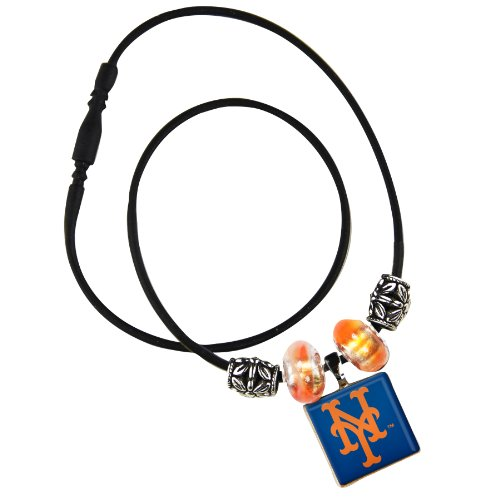 WinCraft MLB New York Mets Life Tiles Necklace with (New York Mets Jewelry)