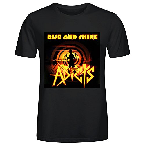 the-adicts-rise-and-shine-mans-t-shirt-black