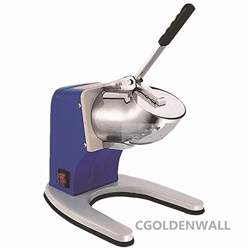 Electric Semi-Automatic Stainless steel Ice Shaver Crusher Ice crushing Machine Ice smashing machine CE approved (Purple) by CGOLDENWALL