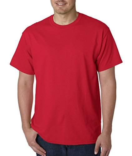 Friends Red T-shirt - Gildan 6.1 Ounce Ultra Cotton Tee Cotton T-Shirt in 68 Colors Red Size Small