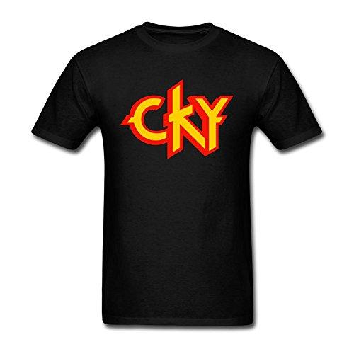 OneGod Men's Cky Band Logo T Shirt S