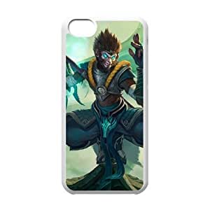 iPhone 5c Phone Case Cover White League of Legends Jade Dragon Wukong EUA15964165 Phone Case Cover Protective Personalized