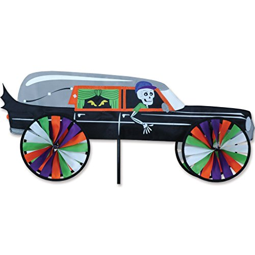 Hearse Halloween Decoration (Premier Kites Haunted Hearse)