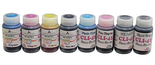 Canon CLI-42 Pixma Pro 100 Bulk Refill Inks 8 Color (4oz/125 ml)