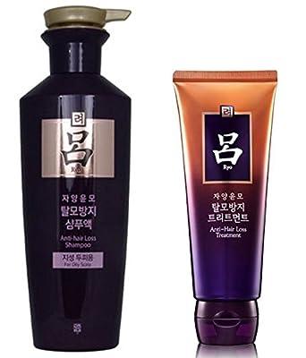 Ryoe Jayang Yoon Mo Anti Hair loss Shampoo 400ml(13.5 oz) & Treatment 200ml(6.76 oz)