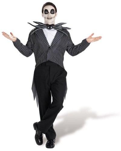 Jack Skellington Adult Costume - X-Large
