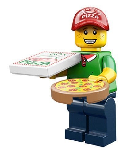 LEGO Series 12 Collectible Minifigure 71007 - Pizza Delivery Guy