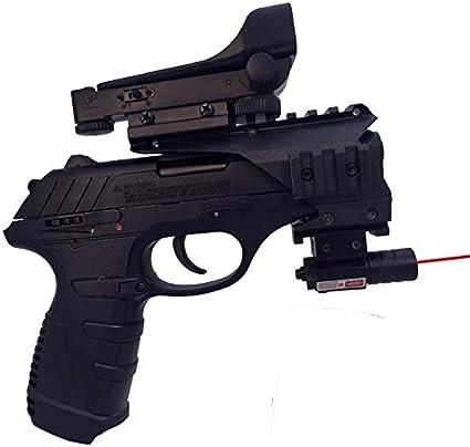 ECOMMUR GAMO P-25 Tactical Blowback | Pistola CO2 (Aire comprimido) de balines (perdigones de Plomo) Calibre 4.5mm - Potencia: 3.14 Julios