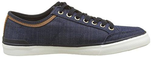 Tommy Zapatillas Sneaker Core Hombre 403 para Mix Midnight Azul Material Hilfiger HXBrqSH