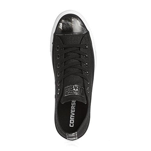 Donne Off Nero Marca Colore Sport Converse Brush Leather Scarpe Per Donne Le Modello Nero Hi Black qTwHgzP