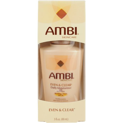Clear Daily Moisturizer (Ambi Even and Clear Daily Moisturizer with SPF 30, 3)