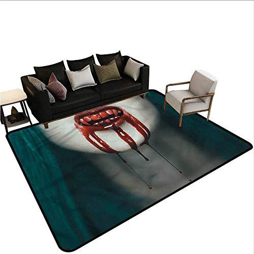 Vampire,Kitchen Room Floor Mat Rug 48