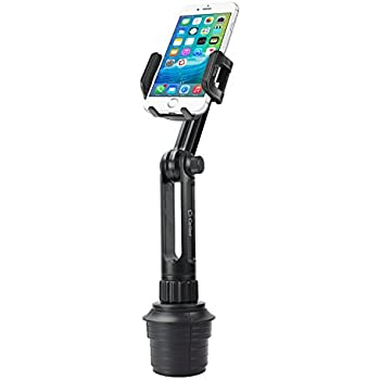 Cellet PH650 Car Cup Holder Mount, Smart Phone Cradle Compatible for iPhone 11 Pro max Xs Max Xr X 8 Plus Samsung Note 10+ 9 8 5 Galaxy A50 A6 S10 S10+ S9 Plus S8+ Active J7 V J3 V Extra Long Neck