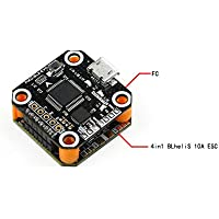HOBBYMATE Mini F3 Flight Controller Plus 4 in 1 10A ESC for FPV Racing Drone - Support 2-3S