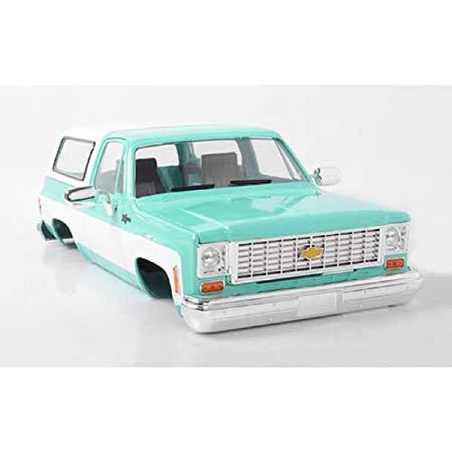 (RC4WD Chevrolet Blazer Hard Body Complete Set Teal Z-B0150)