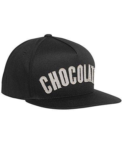 Chocolate League Snapback Hat Black (Chocolate Skate compare prices)