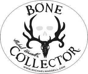 (Bone Collector Decal | White Logo | 6