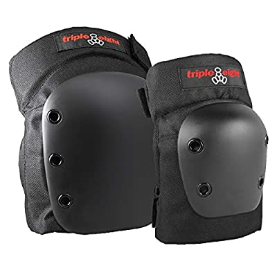 Triple Eight Street 2-Pack Knee and Elbow Pad Set : Skate And Skateboarding Knee Pads : Sports & Outdoors