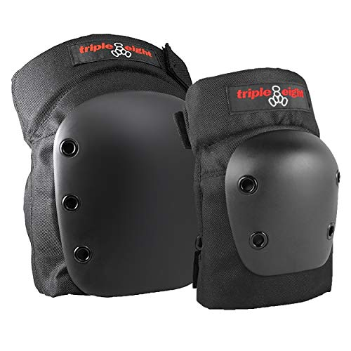 (Triple Eight Street 2-Pack Knee and Elbow Pad Set, Large)