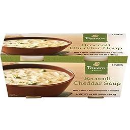 Panera Bread Broccoli Cheddar Soup (24 oz. tubs, 2 pk.)