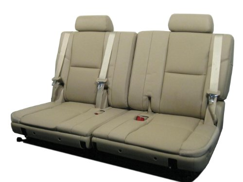 GM OEM Suburban Tahoe 3RD THIRD ROW Tan Leather (3rd Row Leather)