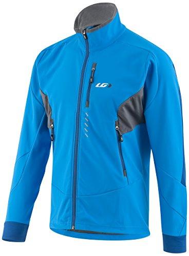 Louis Garneau Men's Enertec Jacket, Curacao Blue, Large