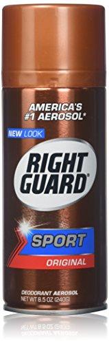 Right Guard Sport Aerosol Deodorant, Original - 8.5 oz - 2 pk