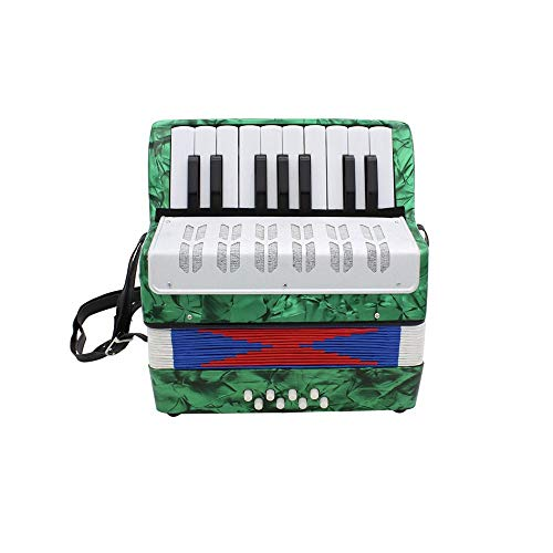 - Andoer Mini Small 17-Key 8 Bass Accordion Educational Musical Instrument Toy for Kids Children Amateur Beginner Christmas Gift
