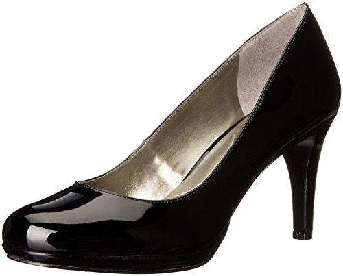 Bandolino Women's Priscilla Platform Pump, Black Synthetic, 8.5 M US