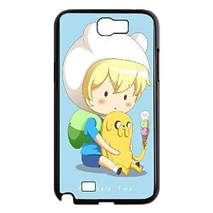 Finn-The-Human Samsung Galaxy N2 7100 Cell Phone Case Black JD7693333