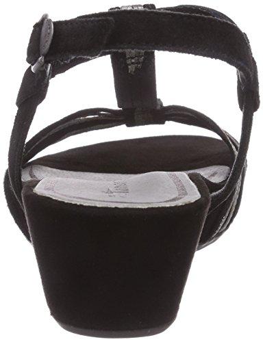 Tamaris 28209 - Sandalias de vestir de material sintético para mujer multicolor - Mehrfarbig (Black Comb 098)