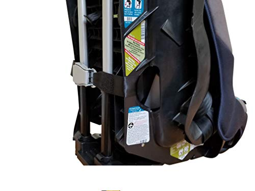 Holm Airport Car Seat Stroller Travel Cart and Child Transporter - A Carseat Roller for Traveling. Foldable, storable, and stowable Under Your Airplane seat or Over Head Compartment. by hölm (Image #5)