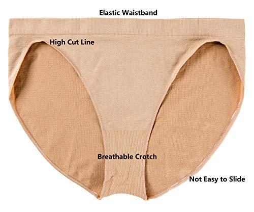 Kids Girls High Cut Seamless Gymnastics Briefs Underwear Ballet Dance Underpants